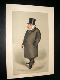 Vanity Fair Print 1889 Mr. J. Bright